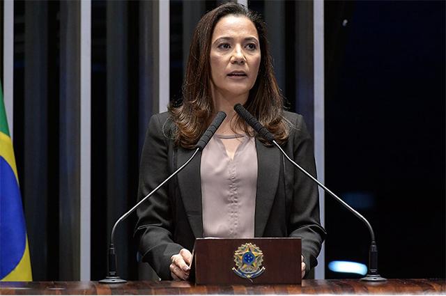 Senadora Mailza Gomes, autora do projeto (Foto: Waldemir Barreto/Agência Senado)