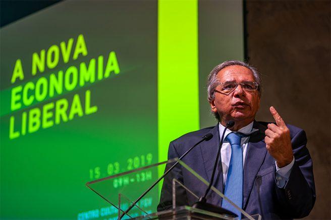 Ministro Paulo Guedes diz ser contra estatais (Foto: Ilan Pellenberg/FramePhoto/Folhapress)