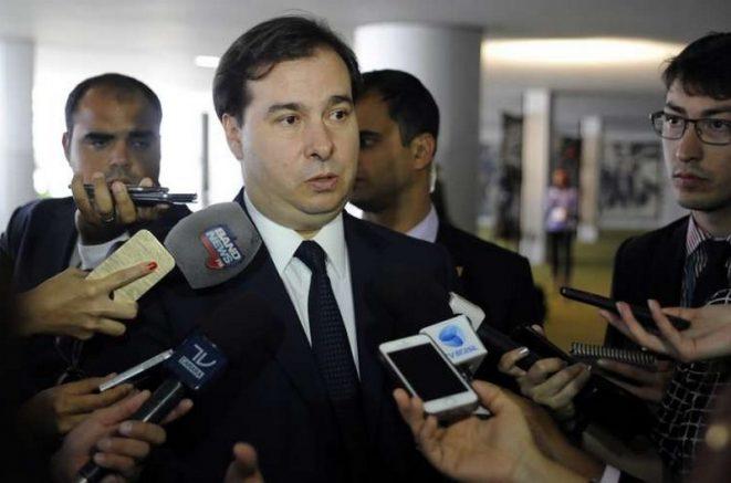 Rodrigo Maia diz que só grupos de pressão sobrevivem (Foto: Lúcio Bernardo Jr/Agência Câmara)