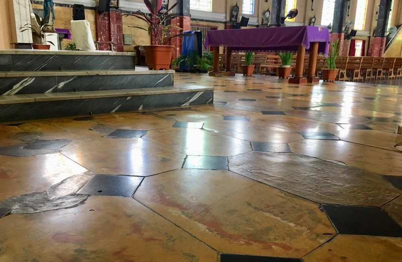 Irmãs salesianas busca ajuda para reforma santuário (Foto: Patrick Motta/ATUAL)