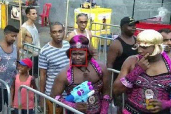 fugitivo no carnaval - Bahia