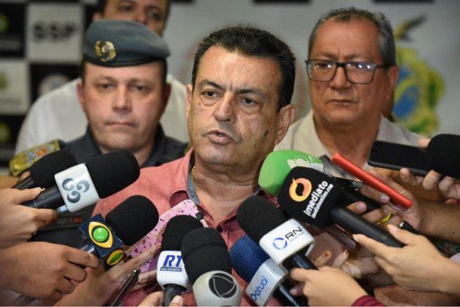 Louismar Bonates diz que acomodação em presídios não é problema da SSP (Foto: Roberto Carlos/Secom)
