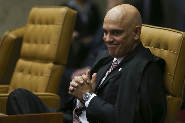 Alexandre de Moraes rebate Raquel oge sobre inquérito que envolve o SF (Foto: José Cruz/ABr)