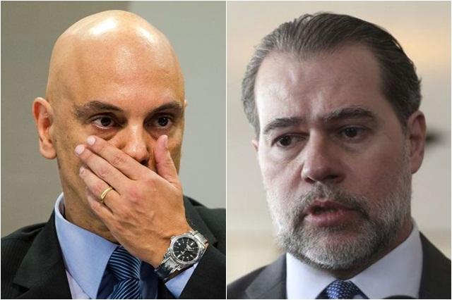 Alexandre de Moraes e Dias Toffoli na mira do Senado ((Fotos: Valter Campanato e Marcelo Camargo/ABr)