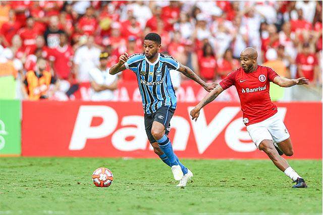 André do Grêmio e Patrick (Foto Lucas Uebel/Grêmio)