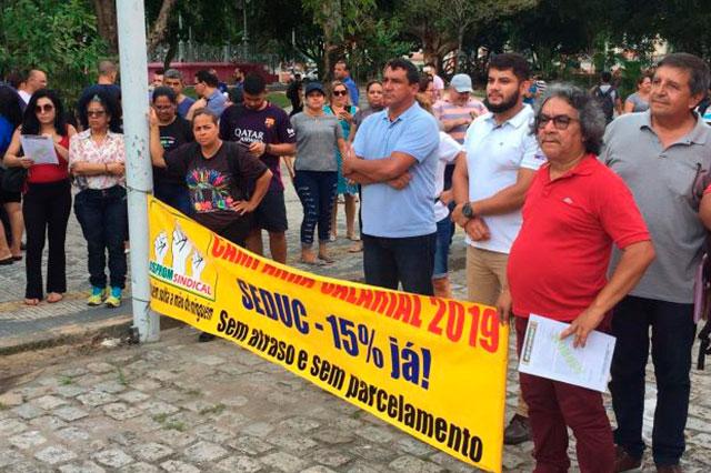 Caso o governo não ofereça proposta melhor de reajuste, a greve será deflagrada no dia 12