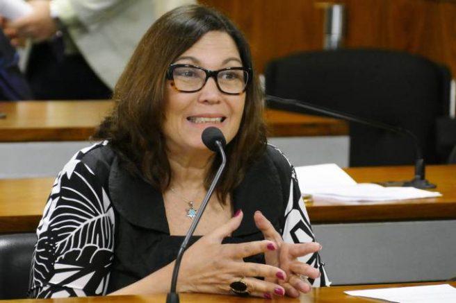 Beatriz Kicis integrará tropa de choque pela reforma (Foto: Edilson Rodrigues/Agência Senado)