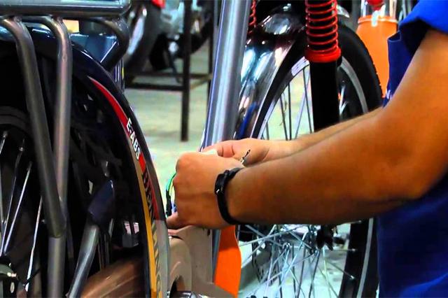 Projeto para fabricar bicicleta elétrica é destaque no Codam (Foto: YouTube/Reprodução)