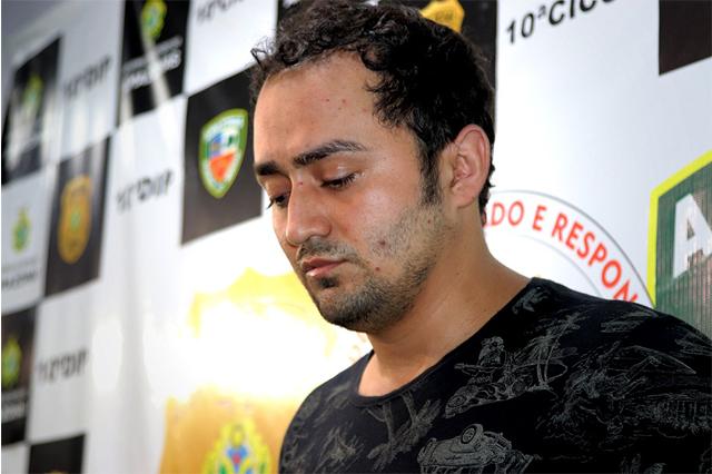 Delegado diz que Bruno Henrique confessou o crime (Foto: Alison Santos/PC-AM)