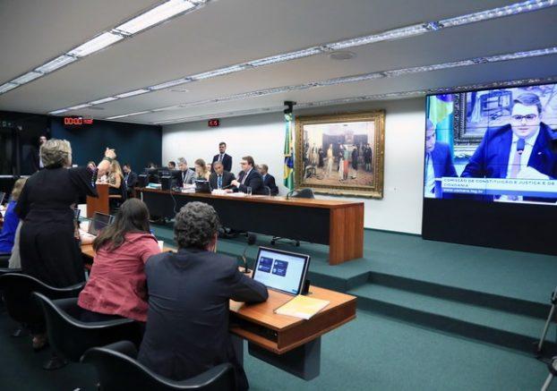 Deputados discutem o texto da reforma da Previdência (Foto: Alex Ferreira/Câmara dos Deputados)