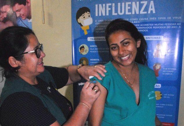 Índice de vacinação de grávidas ainda está abaixo da meta (Foto: José Nildo/Semcom)