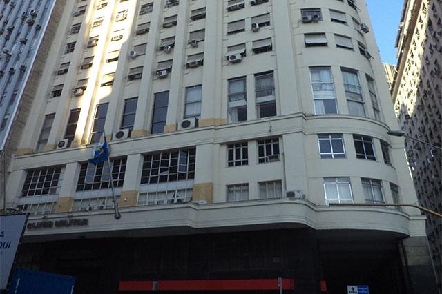 Edifício Duque de Caxias, sede do Clube Militar (Foto: Clube Militar/Divulgação)