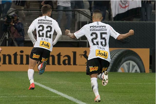 Mauro Boselli comemora gol pelo Corinthians (Foto: Daniel Augusto Jr/Agência Corinthians)