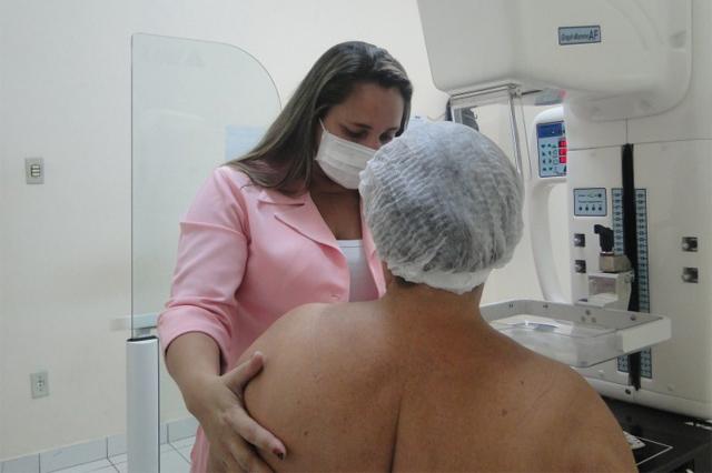 Exame preventivo de câncer de mama (Foto: FCecon/Divulgação)