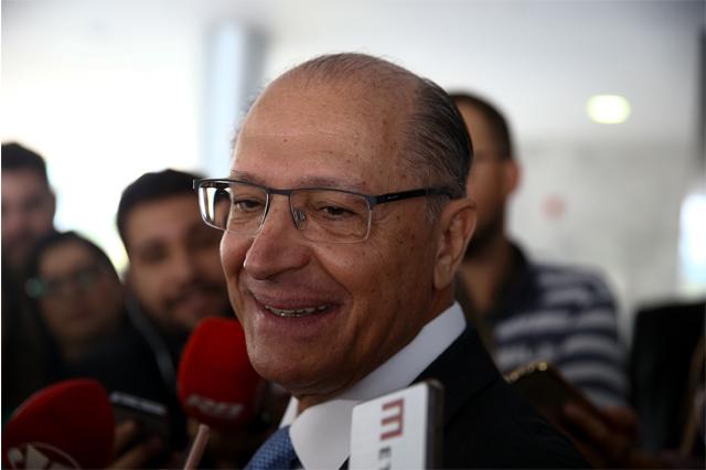 Geraldo Alckmin disse que PSDB não trocará apoio por cargos (Foto: Pedro Ladeira/Folhapress)