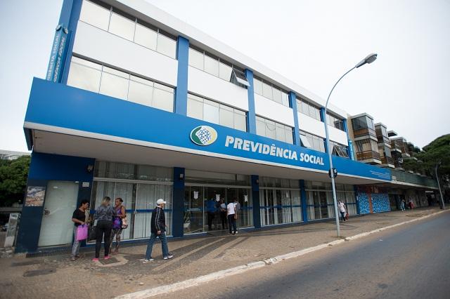 Servidores do Instituto Nacional do Seguro Social (INSS) entraram em greve por tempo indeterminado. Eles reivindicam reajuste salarial de 27,5% e melhores condições de trabalho (Foto: Marcelo Camargo/Agência)Brasil)
