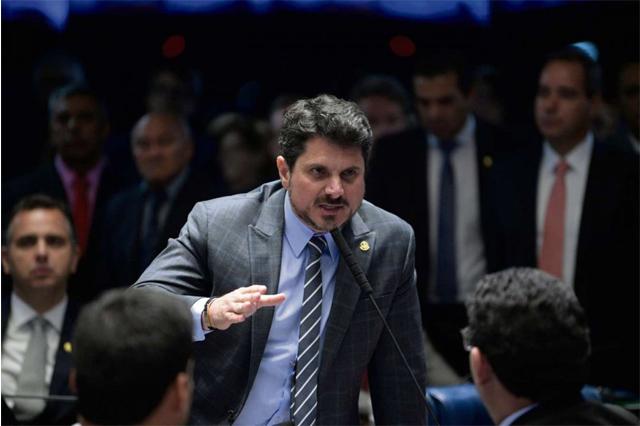 Senador Marcos do Val diz sofrer ameaças de morte (Foto: Pedro França/Agência Senado)
