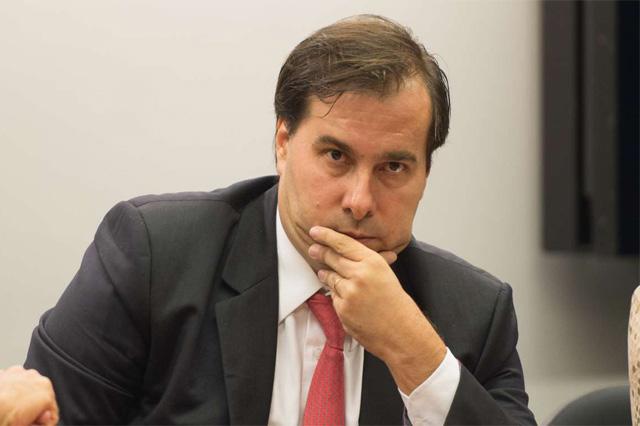 Rodrigo Maia aparece em relatório da Odebrecht sobre propina (Foto: ABr/Agência Brasil)