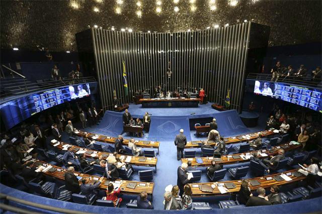 Plenário do Senado aprovou lei nessa quarta-feira (Foto: Fábio Rodrigues Pozzebom/ABr)