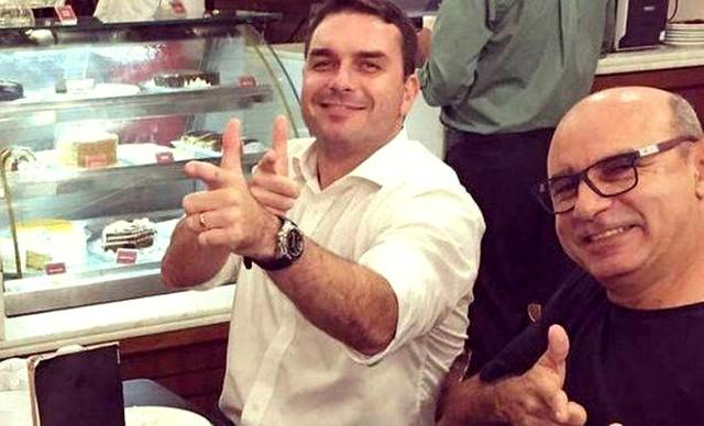 Fabrício Queiroz trabalhou no gabinete de Flávio Bolsonaro (Foto: Instagram/Reprodução)