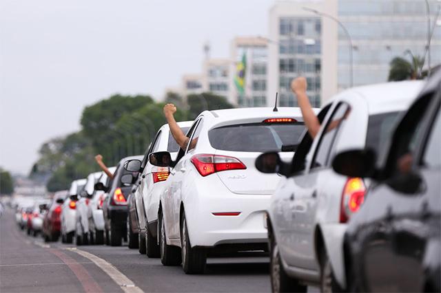 Motoristas de aplicativos poderão se inscrever como MEI no INSS (Foto: Marcelo Camargo/ABr)