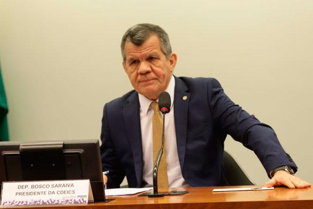 Bosco Saraiva preside a Comissão de Indústria e Comércio da Câmara (Foto: Divulgação)