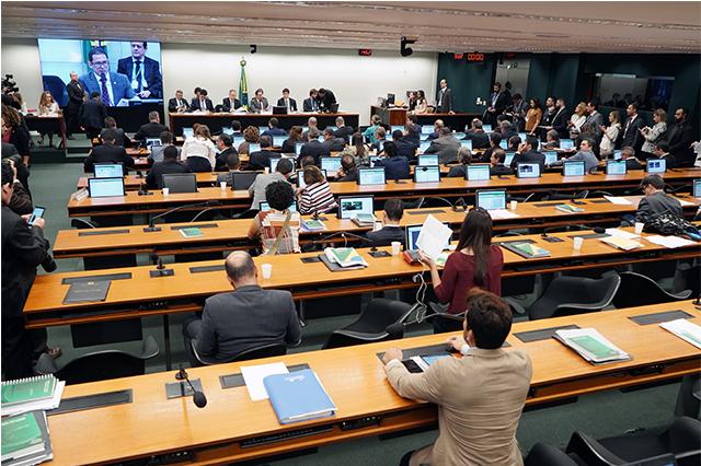 Comissão Especial aprovou cronograma de debates sobre a reforma (Foto: Pablo Valadares/Agência Câmara)