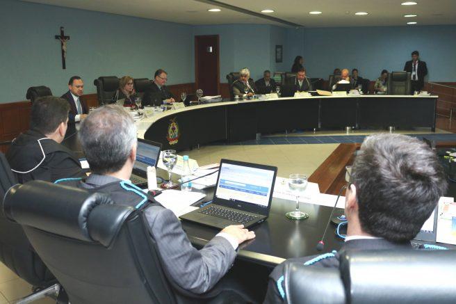 Plenário do TCE: rejeição de contas públicas (Foto: Ana Cláudia Jathay/TCE)