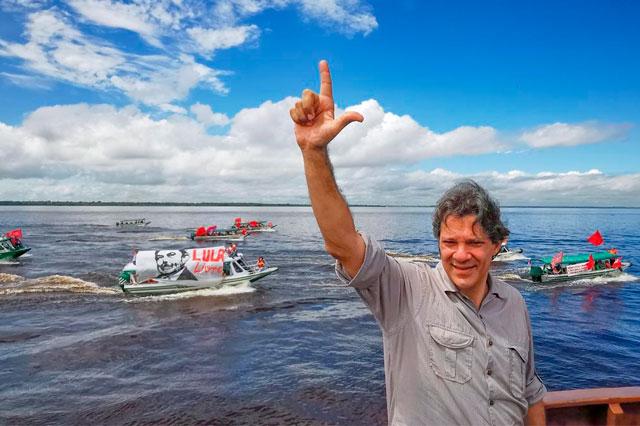 Fernando Haddad em Manaus