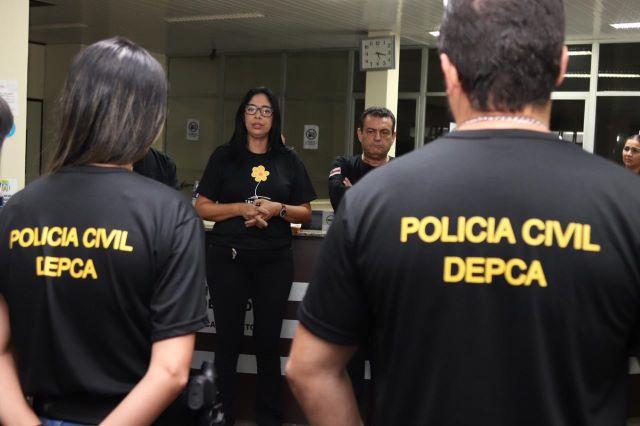 Operação Policial foi iniciada nas primeiras horas da manhã deste sábado (Foto: Divulgação/Secom)