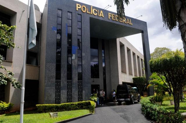 Sede da PF em Brasília: áudio foi interceptado em operação contra a corrupção (Foto: PF/Divulgação)
