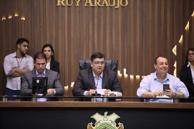 Marcelo Ramos e Omar Aziz participaram de audiência solicitada por Dermilson Chagas