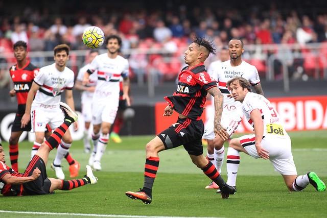Duelo entre São Paulo x Flamengo terá transmissão aberta para todo o Brasil (Foto: Gilvan de Souza/Flamengo)