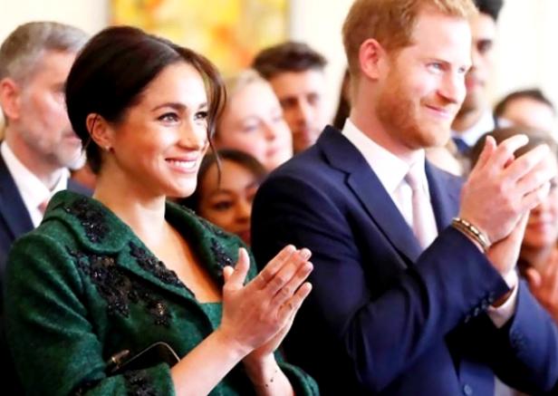 Meghan anunciou em outubro de 2018 que estava grávida, cerca de cinco meses após seu casamento com Harry (Foto: Instagram/Reprodução)