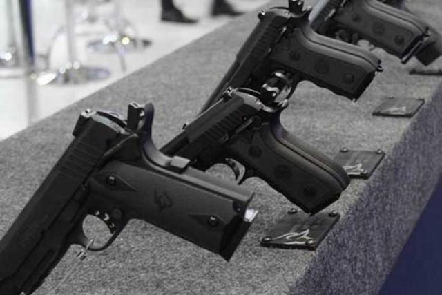 Taurus detém o monopólio do mercado de fabricação de armas de fogo no Brasil (Foto: Divulgação)