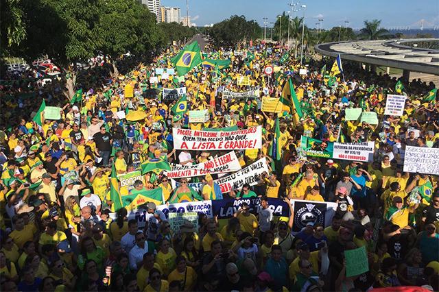 Apoio-a-Bolsonaro-manifestação-na-Ponta-Negra
