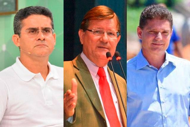 David Almeida, José Ricardo e Marcos Rotta