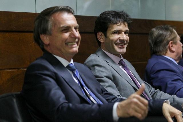 Marcelo Alvaro e Bolsonaro