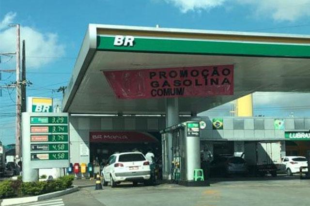 Postos de gasolina mantém preço elevado