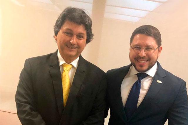 Ricardo Francisco e Carlos Almeida