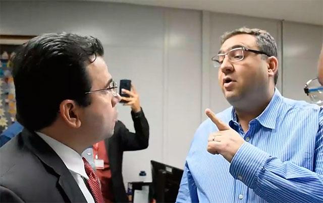 Wilker Barreto e Alex Del Giglio