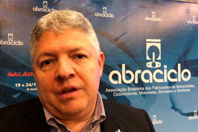 Cyro Gazola, vice-presidente da Abraciclo