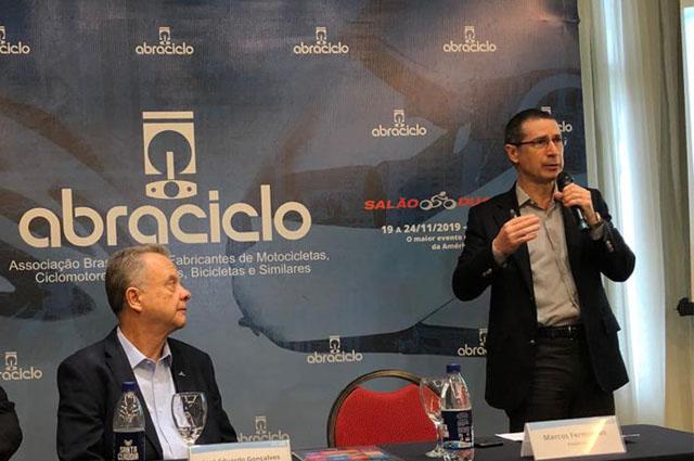 Marcos Fermanian - presidente abraciclo