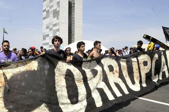 corrupção protesto