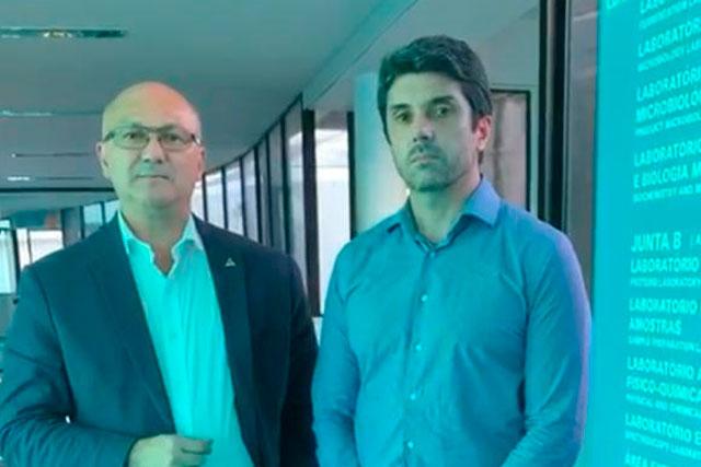 Alfredo Menezes e Fábio Calderaro