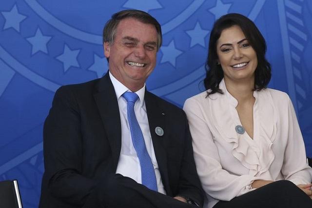Bolsonaro e Michele