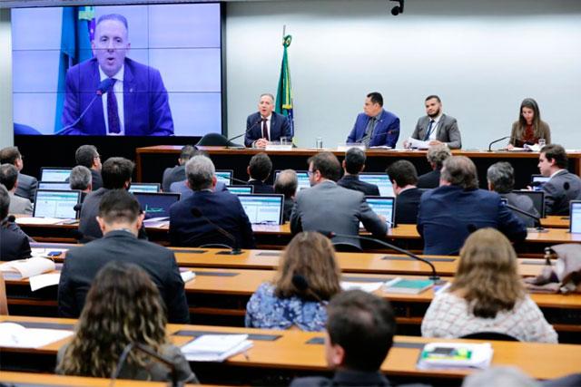 Comissão da reforma tributária na Câmara dos Deputados