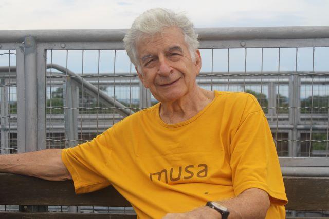 Ennio Candotti, diretor do Musa