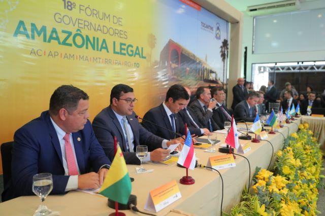 Wilson Lima no Fórum de Governadores da Amazônia