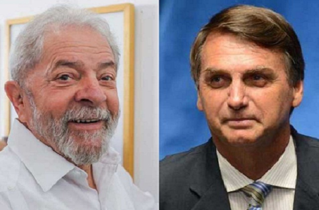 Lula x Bolsonaro